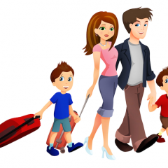FAMILY TRAVEL –taxable income?